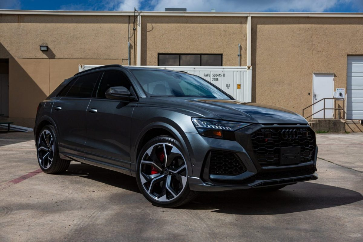Audi RS Q8 Full Wrap With SunTek Paint Protection Film & CQuartz Finest - Paint Protection Film and Ceramic Paint Coating in San Antonio, Texas