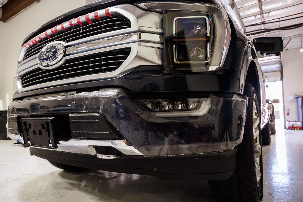 Ford F150 Platinum Protected With SunTek PPF & Cquartz Coating 2