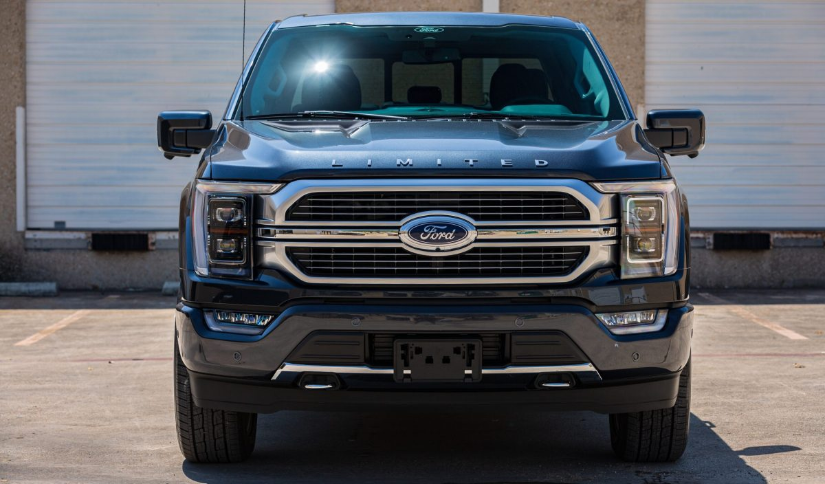 Ford F150 Platinum Protected With SunTek PPF & Cquartz Coating 3