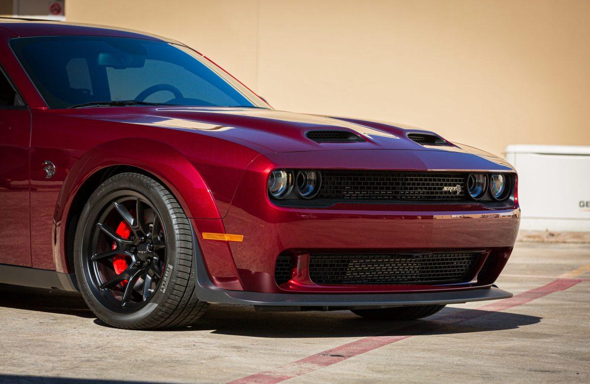 Dodge Challenger Hellcat Redeye Gets SunTek Reaction Paint Protection - Paint Protection Film in San Antonio, Texas