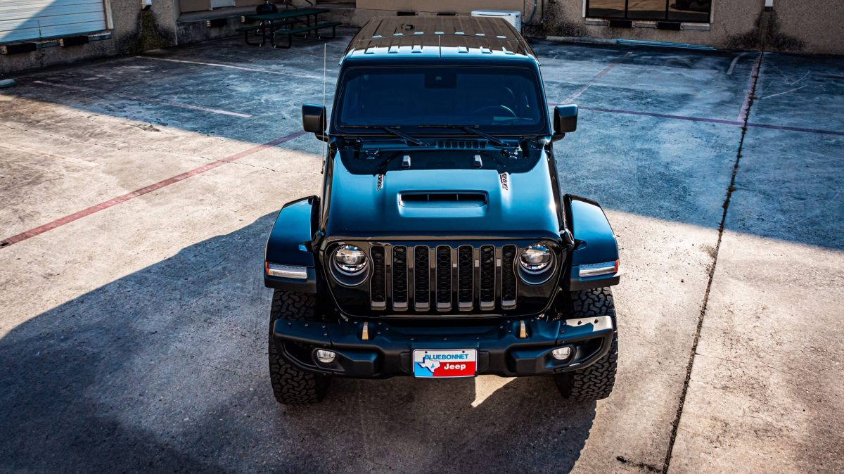 Jeep Wrangler Gets New STEK DYNOflex Windshield Protection - Windshield protection in San Antonio, Texas 3