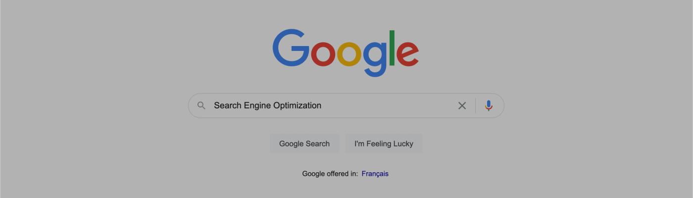 search engine optimization google search