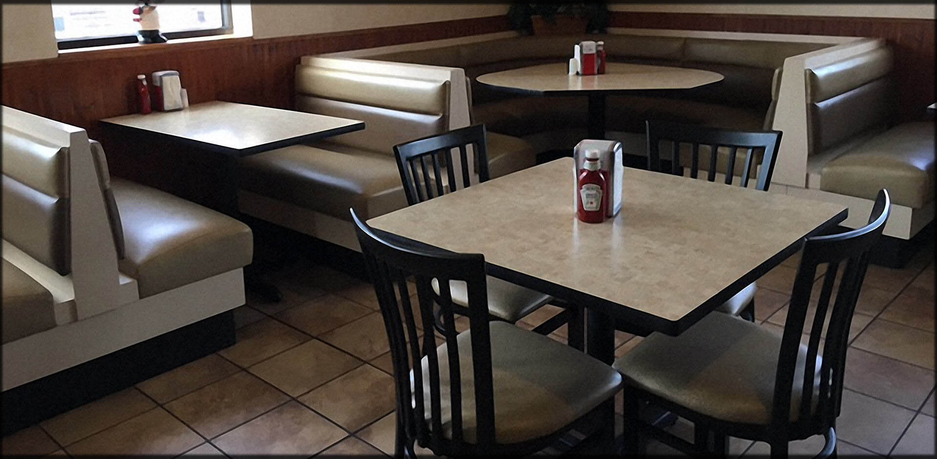 custom restaurant tables and chairs cow print dining chair furniture seating commercial booths