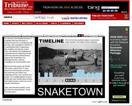 snaketowntimeline