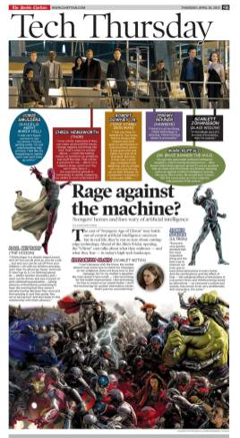 The Pueblo Chieftain Tech Thursday: Age of Ultron