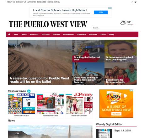PuebloWestView.com