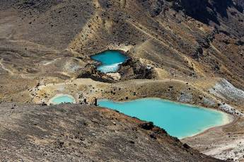 Alpine lakes, Tongariro Crossing