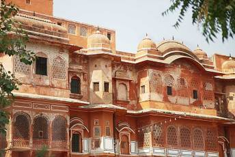 Typical  Jaipur architecture