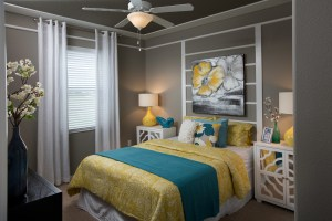 Augusta Model Bedroom at ChampionsGate