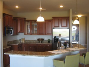 Hideaway Model Kitchen at ChampionsGate