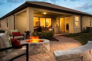 Hideaway Model Firepit at ChampionsGate