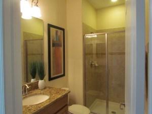 Sabal Palm Model bathroom at Storey Lake