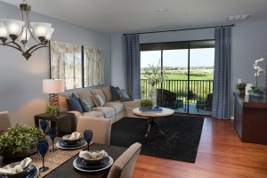 Turnberry Model Living Room at ChampionsGate