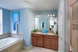 Augusta Model Master Bathroom at ChampionsGate