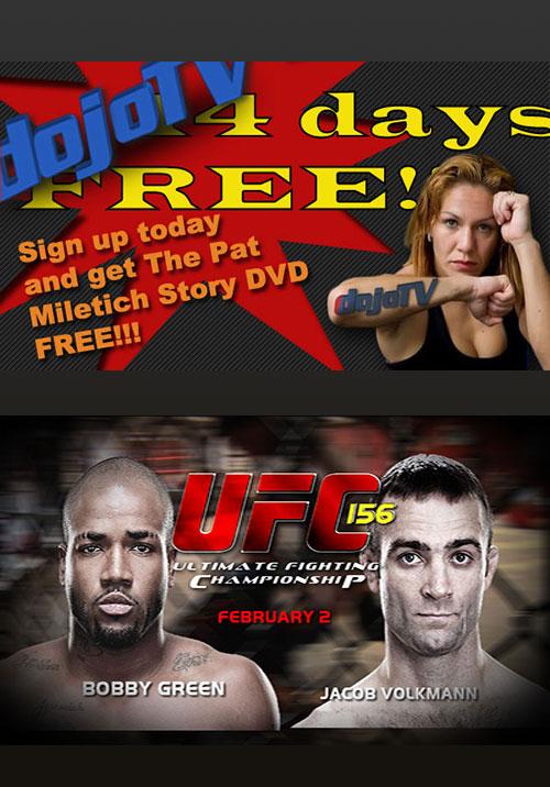 Dojo - UFC 156