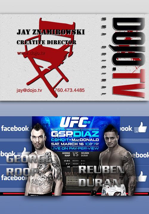 Dojo Card - UFC 158