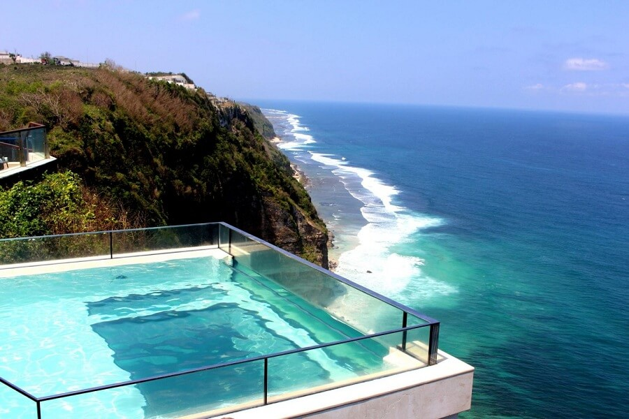 Glass Bottom Pool
