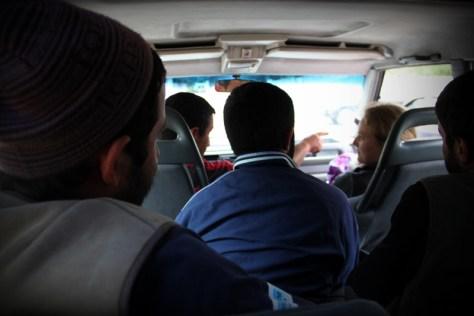 na stopie do Wardzi