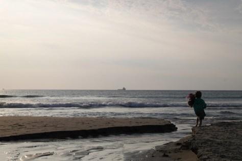 plażowa kontemplacja