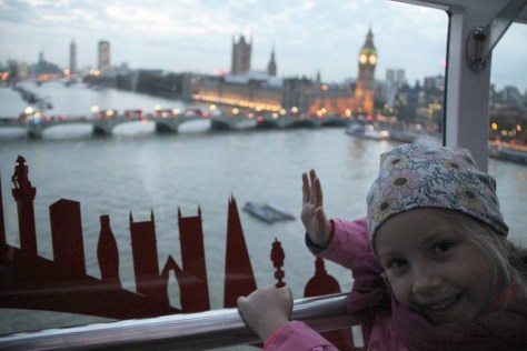 Lilka w London Eye