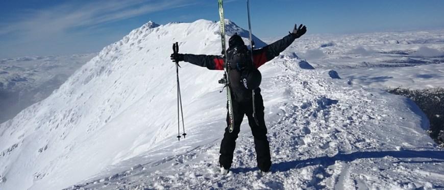 może to miłość a może tylko chwila – ponownie na lodospadach w Rjukan oraz Gaustatoppen skiturowo