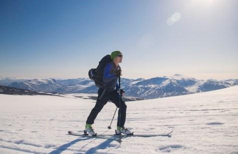 skiturowo na Galdhøpiggen