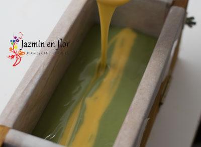 Taller de jabón natural artesanal