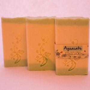 Jabón natural de aceite de aguacate