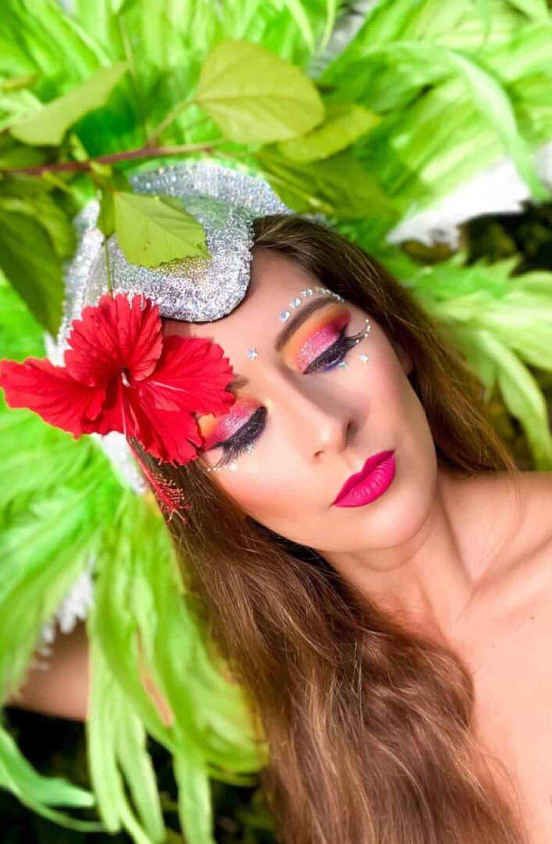 Jazmin Isabel Carnival Makeup 2020