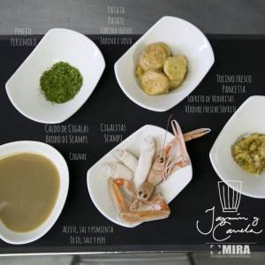 Ingredientes PATATA A LA IMPORTANCIA - Patata L'importanza (Receta Taberna Arzábal)
