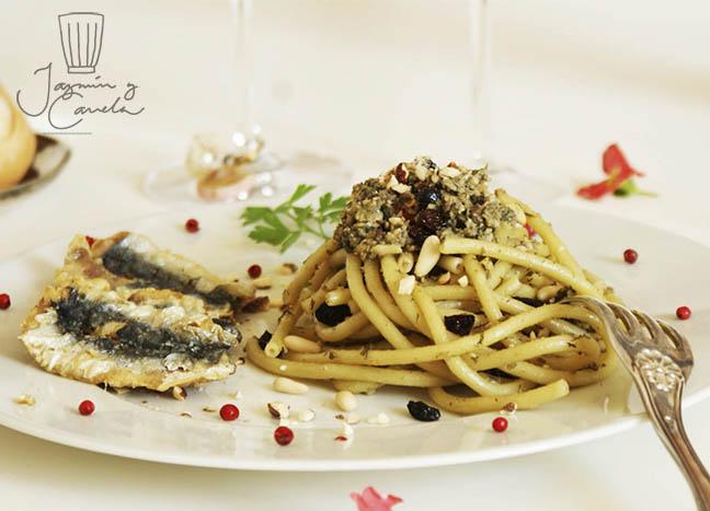 Pasta con Sardinas - Bucatini con le sarde e finocchietto selvatico