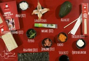sushi paso a paso, receta CALIFORNIA ROLLS