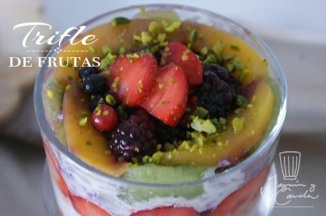 Trifle de frutas 11