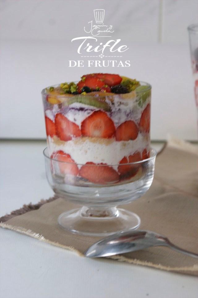 Trifle de frutas 14