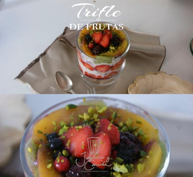Trifle de frutas 6