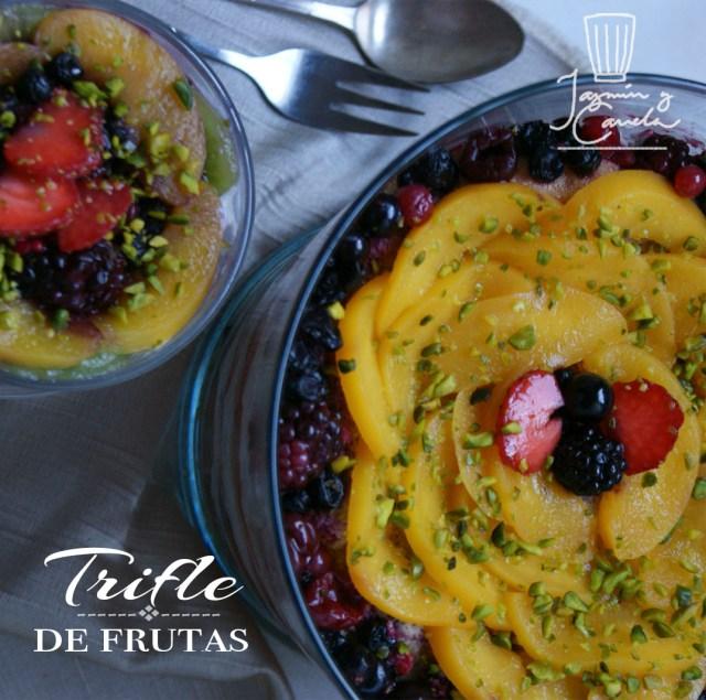 Trifle de frutas