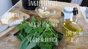Ingredientes La auténtica receta de PESTO de ALBAHACA o PESTO a la GENOVESE. El auténtico pesto verde de Liguria