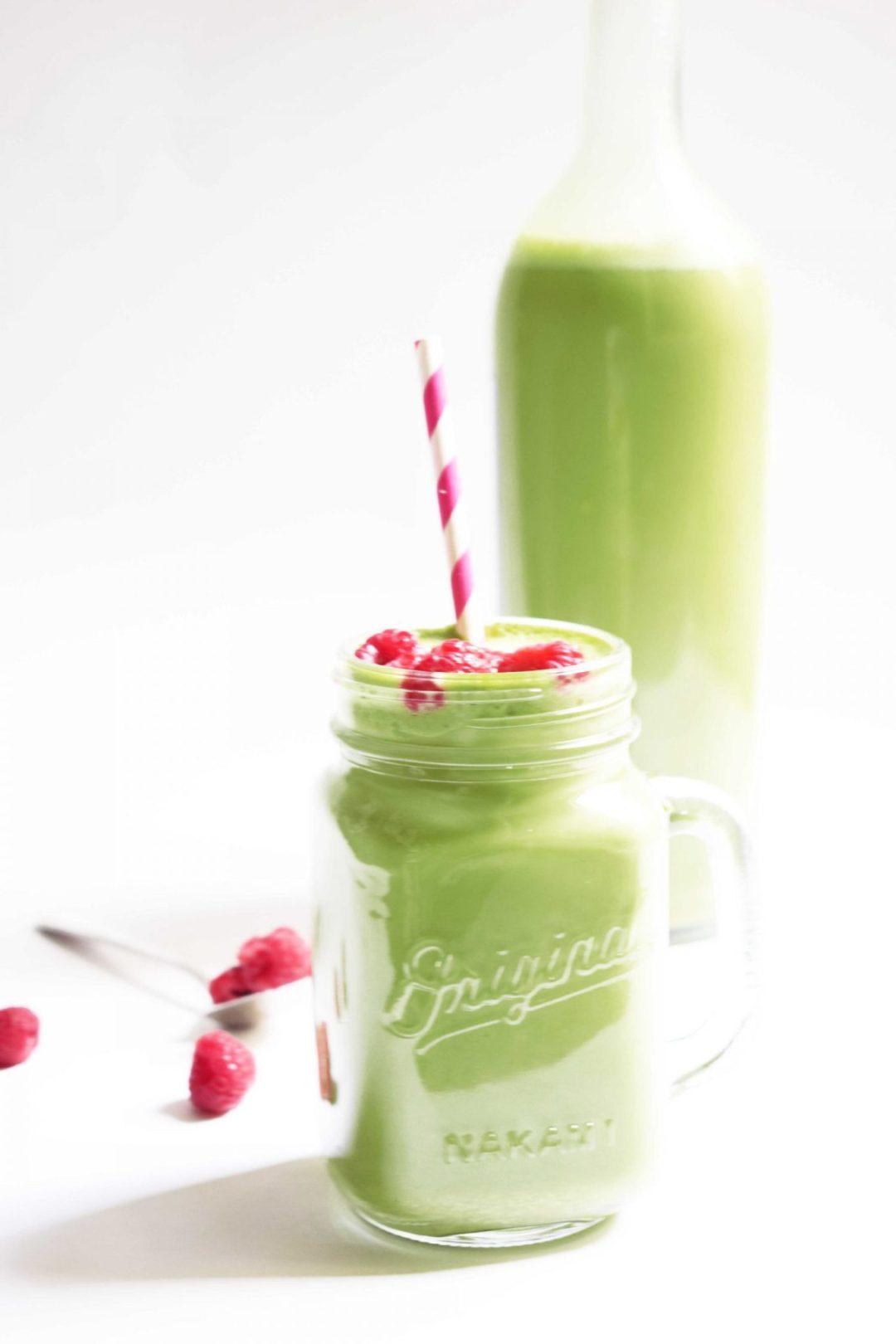 Smoothie-Té-Matcha-y-plátano-granizado-para-adelgazar-veganogreen-smoothie-Té-matcha-smoothie-DSC_0043