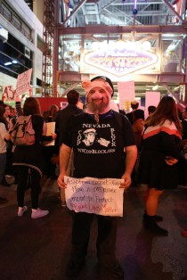 King Ron of Nevada Cop Block. Photo by Beverly Yuen Thompson