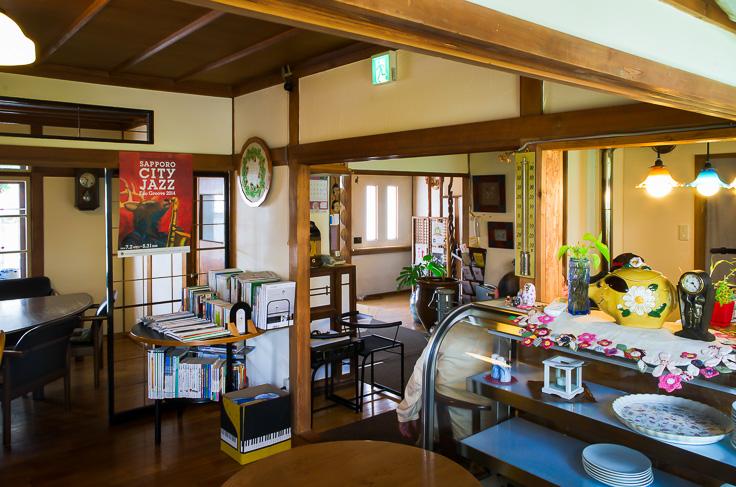 札幌 ミツヤカフェ