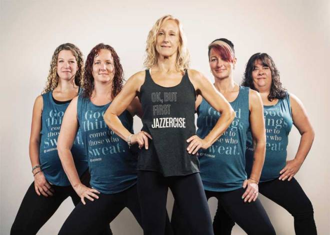 How many calories are burned in Jazzercise?