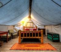 Woods Inn Wall Tent Sleeping, Adirondacks | Jazzersten's ...