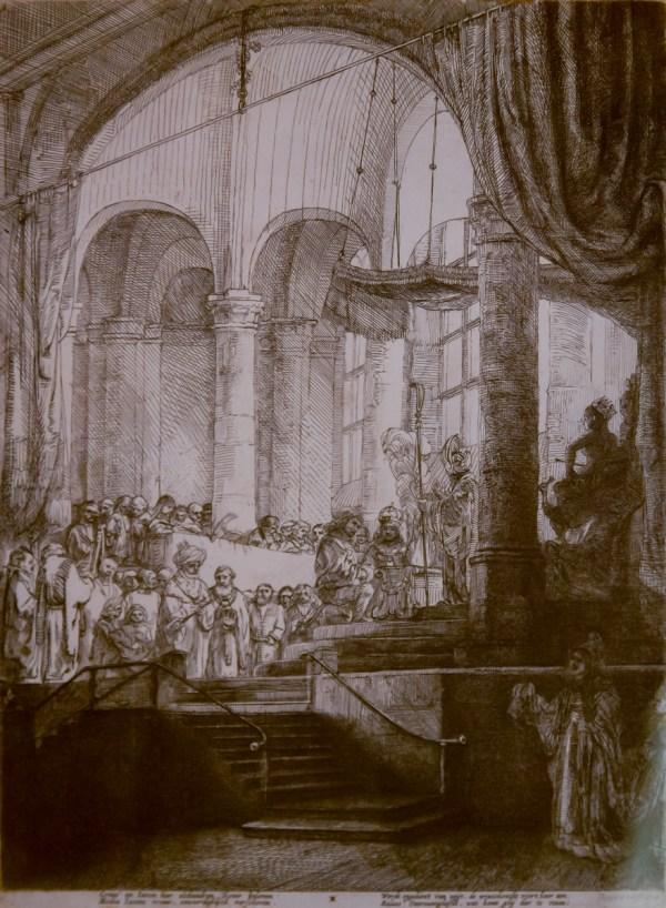 Rembrandt Van Rijn Memorial Art