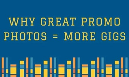 Why great promo photos will get you more gigs