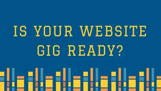 Jazzers: Is Your Website Gig Ready?