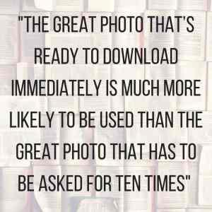 Photo sharing with Dropbox