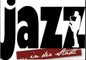Logo mit Jazz in der Stadt