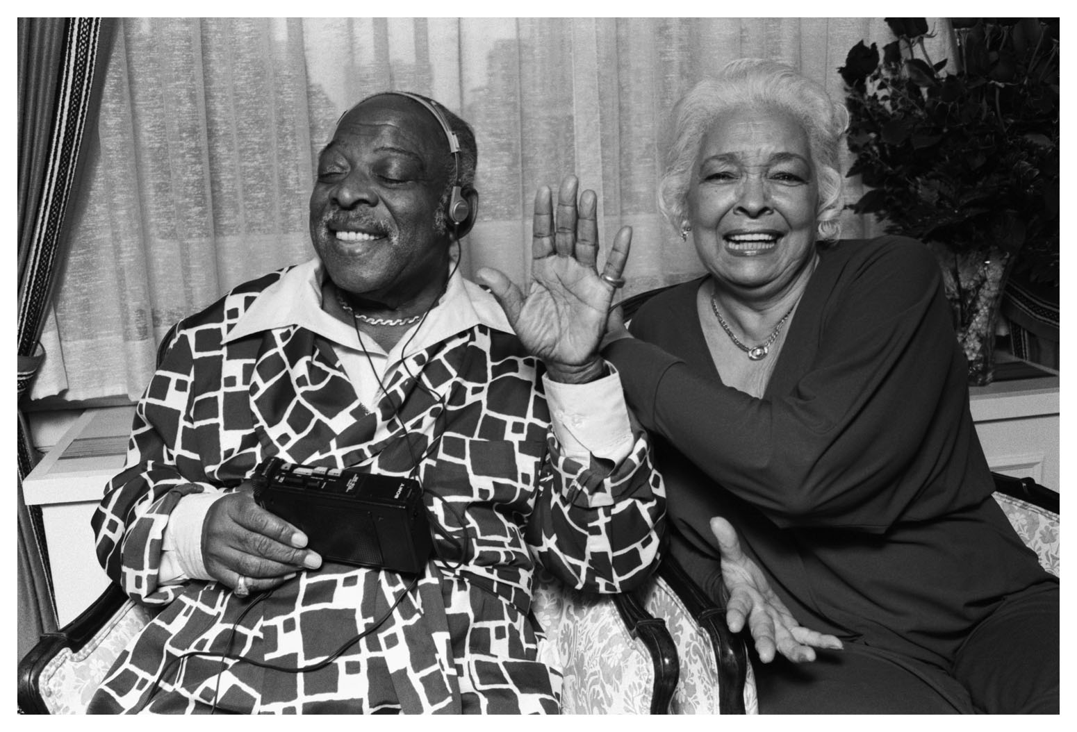Count Basie And His Wife Katy 169 Jazzinphoto