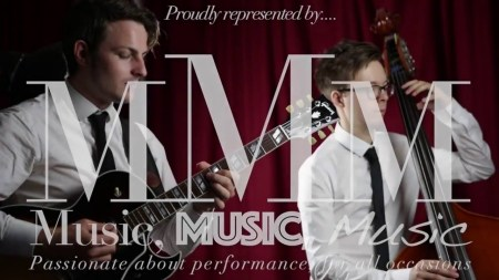 Guitar and double bass duo jazz band juice buckinghamshire for hire
