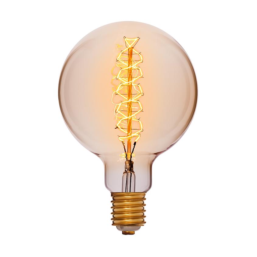 Лампа шар Эдисона 15 см